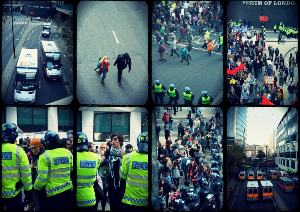 London Cuts Protest